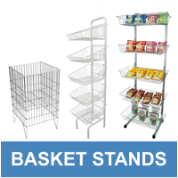 Basket Stands & Dump Bins