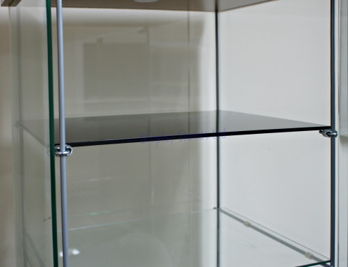 Acrylic Shelves With Brackets For Ikea Detolf Cabinet Dsa Ik