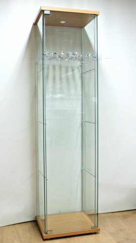 Acrylic Shelves With Brackets For Ikea Detolf Cabinet Dsa Ik